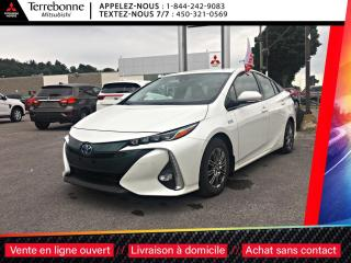 Used 2017 Toyota Prius Prime CUIR + GPS + ASSISTANCE AU STATIONNEMENT + VOLANT for sale in Terrebonne, QC