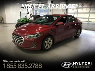 Used 2017 Hyundai Elantra GARANTIE + CAMERA + TOIT + A/C + MAGS + for sale in Drummondville, QC