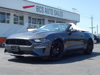 Used 2019 Ford Mustang EcoBoost, Air-Conditioned Leather, Navigation for sale in Vancouver, BC