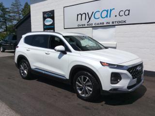 Used 2020 Hyundai Santa Fe Preferred 2.4 HEATED SEATS/WHEEL, BACKUP CAM, MYCAR POWERBUY for sale in North Bay, ON
