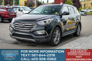 Used 2017 Hyundai Santa Fe Sport 2.0T SE SPORT/LEATHER/SUN ROOF/REAR CAM/HANDS FREE for sale in Okotoks, AB