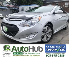 Used 2013 Hyundai Sonata Hybrid LIMITED-NAV-BACKUP CAMERA-LEATHER-HEATED SEATS for sale in Hamilton, ON