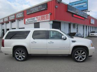 Used 2007 Cadillac Escalade ESV $9,995+HST+LIC FEE / CLEAN CARFAX / CERTIFIED / ALL WHEEL DRIVE for sale in North York, ON