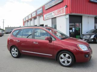 Used 2008 Kia Rondo EX Premium $5,995+HST+LIC FEE / LEATHER / 3RD ROW SEATING/ CERTIFIED for sale in North York, ON