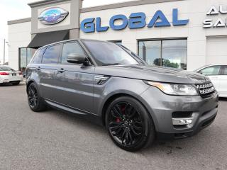Used 2016 Land Rover Range Rover Sport 5.0 L SUPERCHARGED V8 SC Dynamic for sale in Ottawa, ON