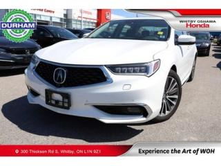 Used 2018 Acura TLX Sh-Awd for sale in Whitby, ON