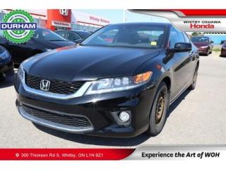 Used 2015 Honda Accord EX-L for sale in Whitby, ON
