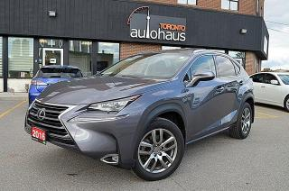 Used 2016 Lexus NX 200t/NAVI/BSM/CAM/SUNROOF/LEATHER/LOADED for sale in Concord, ON
