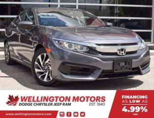 Used 2016 Honda Civic Sedan EX for sale in Guelph, ON