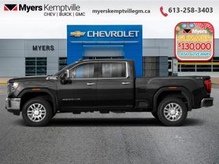 New 2020 GMC Sierra 2500 HD AT4  - Sunroof for sale in Kemptville, ON
