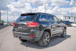 Used 2012 Jeep Grand Cherokee Overland NAVI/LEATHER/SUNROOF for sale in Concord, ON