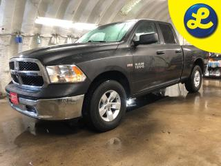 Used 2017 RAM 1500 SXT 4X4 QUAD CAB * Hemi * 6 Passenger * Phone Connect * Voice Recognition * Rugged liner box insert * Hands free steering wheel controls * for sale in Cambridge, ON