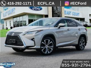 Used 2017 Lexus RX 350 for sale in Scarborough, ON
