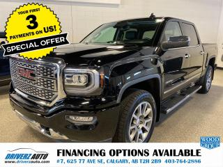 Used 2018 GMC Sierra 1500 Denali HEATED & COOL SEATS, NAVIGATION, AND LOTS MORE.. for sale in Calgary, AB