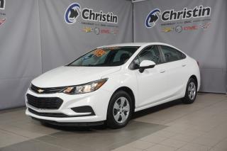 Used 2017 Chevrolet Cruze TOUT EQUIPÉ AIR CLIMATSÉ TAUX @ 0% for sale in Montréal, QC