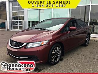 Used 2015 Honda Civic EX *GARANTIE GLOBALE 2020 OU 120 000 KM* for sale in Donnacona, QC