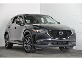 Used 2017 Mazda CX-5 AWD  GT MAGS CUIR NAV  BLUETOOTH  TOIT OUVRANT for sale in Brossard, QC