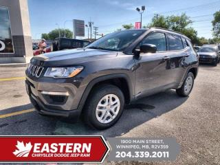 Used 2018 Jeep Compass Sport | 1 Owner | Backup Cam | Heated Front Seats | for sale in Winnipeg, MB