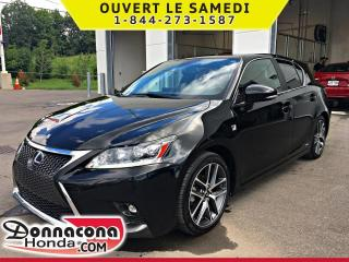 Used 2017 Lexus CT 200h HYBRID *SEULEMENT 49 399 KM* for sale in Donnacona, QC