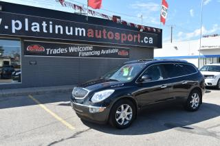 Used 2009 Buick Enclave CXL 2 MOON ROOFS!! DVD ENTERTAINMENT SYSTEM!! HEATED AND COOLED SEATS!! PLUS PLUS PLUS!! for sale in Saskatoon, SK