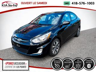 Used 2015 Hyundai Accent * GLS* TOIT OUVRANT* BLUETOOTH* UN SEUL for sale in Québec, QC