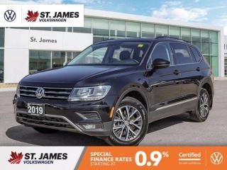 Used 2019 Volkswagen Tiguan Comfortline, Push to Start, Apply CarPlay, Panoramic Sunroof for sale in Winnipeg, MB