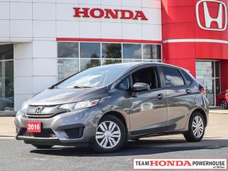 Used 2016 Honda Fit LX--1 Owner--No Accidents--Backup Camera for sale in Milton, ON