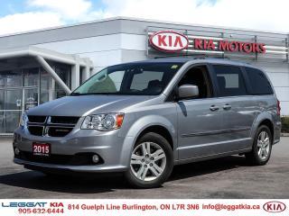 Used 2015 Dodge Grand Caravan Crew for sale in Burlington, ON