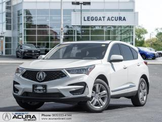 New 2021 Acura RDX Platinum Elite TOP OF THE LINE| TOP SAFETY FEATURES | FULLY LOADED|DEMO for sale in Burlington, ON