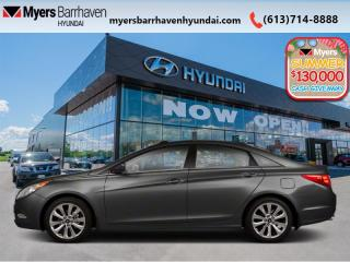 Used 2011 Hyundai Sonata LIMITED  - Sunroof -  Leather Seats - $186 B/W for sale in Nepean, ON