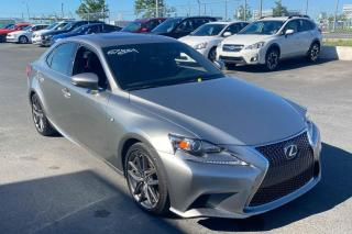 Used 2016 Lexus IS 300 AWD CUIR TOIT NAV MAGS for sale in St-Hubert, QC