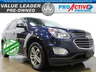 Used 2016 Chevrolet Equinox LTZ | 4Cyl | HTD Leather Buckets | Sunroof for sale in Virden, MB