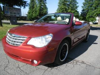 Used 2008 Chrysler Sebring CONVERTIBLE  *clean NO ACCIDENTS+FREE 6M warranty* for sale in Ajax, ON