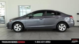 Used 2015 Honda Civic LX + VITRES TEINTEES + BLUETOOTH! for sale in Trois-Rivières, QC