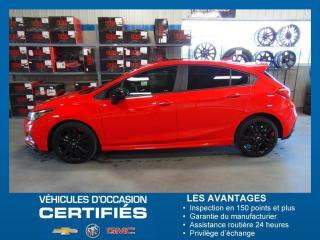 Used 2018 Chevrolet Cruze ensemble RS for sale in Amos, QC