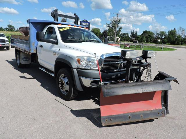 2010 Dodge Ram ST Diesel 4X4 Western V plow and spreader