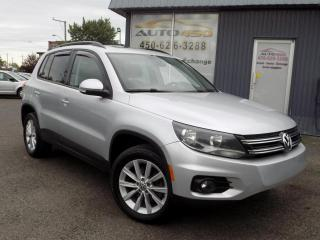 Used 2013 Volkswagen Tiguan ***4MOTION,CUIR,TOIT PANO,MAGS*** for sale in Longueuil, QC