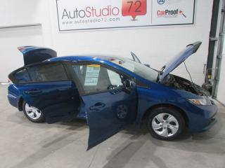 Used 2015 Honda Civic LX **AUTO**A/C**DÉMARREUR**CRUISE** for sale in Mirabel, QC