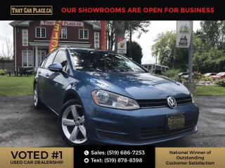 Used 2016 Volkswagen Golf Sportwagon 1.8 TSI Trendline Bluetooth System, Back Up Camera, Heated Seats. for sale in London, ON