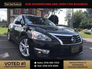 Used 2015 Nissan Altima 2.5 SL Leather- Sunroof-Back up Cam-Bluetooth for sale in London, ON