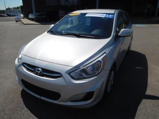 Used 2016 Hyundai Accent GL,A/C,CRUISE,BANCS CHAUFFANTS, VITRES, BLUETOOTH for sale in Mirabel, QC