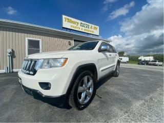 Used 2011 Jeep Grand Cherokee Overland for sale in Tilbury, ON