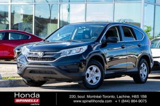 Used 2016 Honda CR-V LX DEAL PENDING BAS KM FWD*AC*AUTO*BLUETOOTH*CAMERA*SIEGES CHAUFFANTS*++ for sale in Lachine, QC