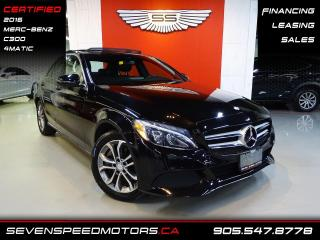 Used 2016 Mercedes-Benz C-Class ACCIDENT FREE   NAVI   CERTIFIED   FINANCE @ 4.65% for sale in Oakville, ON
