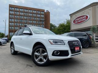 Used 2016 Audi Q5 QUATTRO | BLUETOOTH | LEATHER | HEATED SEATS | DVD for sale in Scarborough, ON