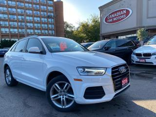 Used 2016 Audi Q3 LEATHER | PANO | BLUE TOOTH | DUAL DVD | for sale in Scarborough, ON