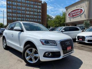 Used 2016 Audi Q5 QUATTRO | LEATHER | HEATED SEATS | BLUE TOOTH | for sale in Scarborough, ON