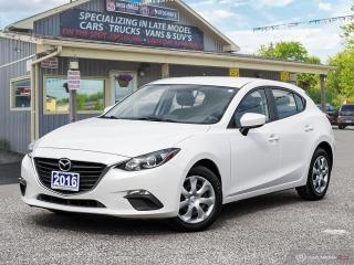 Used 2016 Mazda MAZDA3 GX,REAR VIEW CAM, BLUETOOTH for sale in Orillia, ON