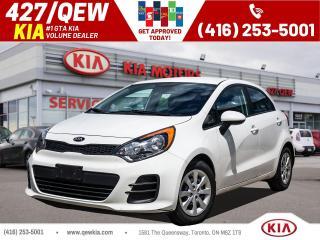 Used 2017 Kia Rio LX+ for sale in Etobicoke, ON