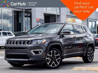 Used 2019 Jeep Compass Limited 4x4 Navigation Panoramic Sunroof Back up Camera Remote Start for sale in Thornhill, ON